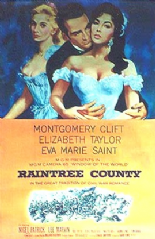Raintree County 1957 DVD - Montgomery Clift / Elizabeth Taylor